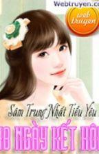 40 Ngày Kết Hôn by annalee981401