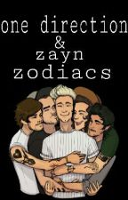 one direction & zayn zodiacs  by hary-styles