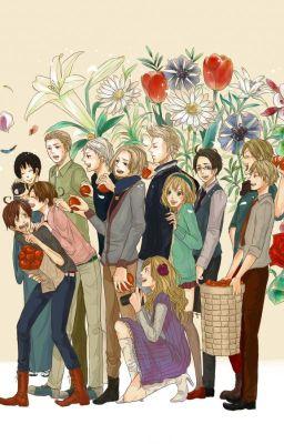 [Hetalia Fanfic] National Flowers