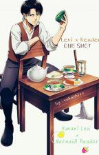Human!Levi x Mermaid!Reader (Modern AU) | One Shot by vakashi10