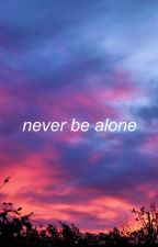NEVER BE ALONE || SEBASTIAN STAN by rileysblues