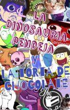 La Dinosauria pendeja y la Torta de Chocolate by Dino_Rawrtime