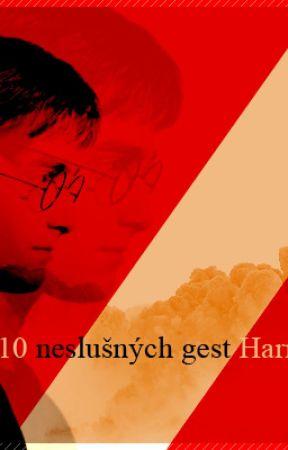 10 neslušných gest Harryho Pottera || [ Drarry] by Bad_Tetsu