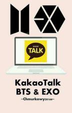 KakaoTalk BTS & EXO  by Chmurkowy20166