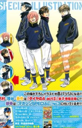 My Top Sports Anime Manga 1 Ace Of The Diamond Wattpad