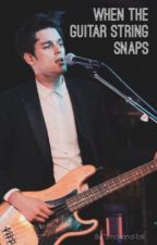 When the Guitar String Snaps // A Dallon Weekes Fanfiction by Smol-and-Tall