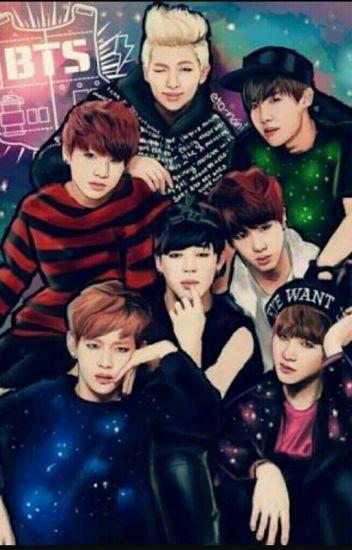 BTS İLE HAYAL ET  (Jungkook,jimin,suga,V)