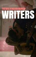 Writers. ● hood by thewalkingdrummer