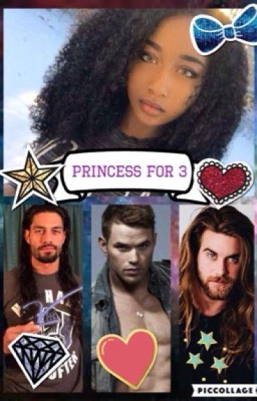 Princess for 3 (INTERRACIAL BWWM WMBW )