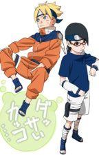 ( Naruto fanfic ) ( SasuSaku )Trốn về quá khứ  by bigbaball