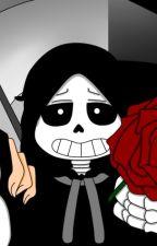 Reaper Sans, prometo no lastimarte by laminii