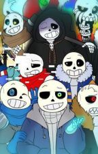 Sans AU Highschool by hewwoitskeke1234