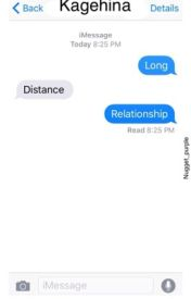 Long Distance Relationship - kagehina by nugget_purple