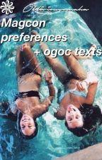 Magcon preferences + ogoc texts by obliviousomaha