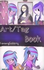 Art/Tag Book by blixian
