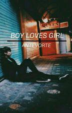 Boy Loves Girl » Jungkook √ by antevorte