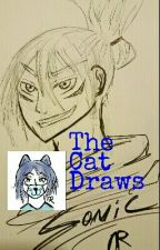 The Cat Draws [art book]  by nikaravenscraft