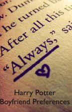 Harry Potter preferences by anunderagewizard