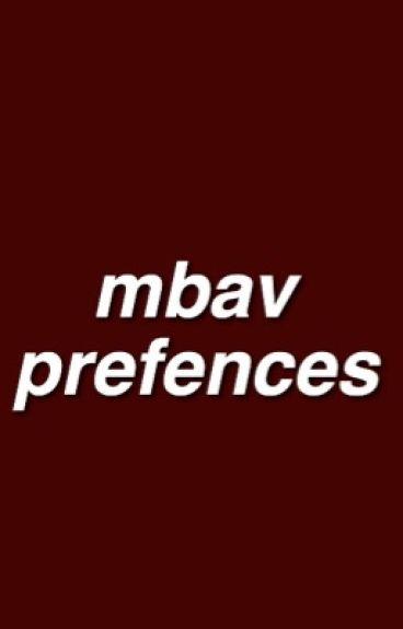 mbav prefences