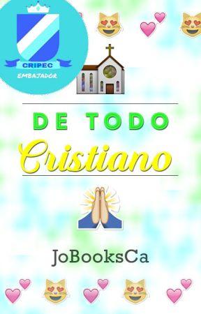 De Todo: Cristiano. by JoBooksCa