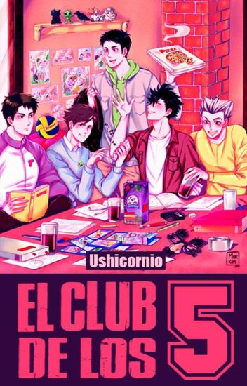 El Club de los 5 - Haikyuu!! (yaoi) #HaikyuuAwards