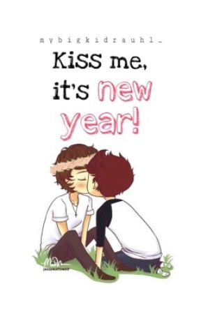Kiss me, it's new year! | l.s  by MyBigKidrauhl_