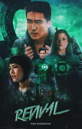 Revival   GREEN LANTERN by avengeur