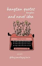 bts quotes and novel idea by chimkriseu-