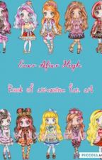 Ever After High book of awesome fan art by winxlover13