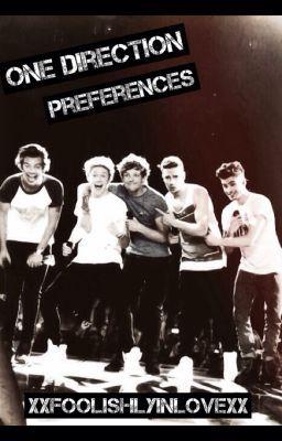 One Direction Preferences Wattpad
