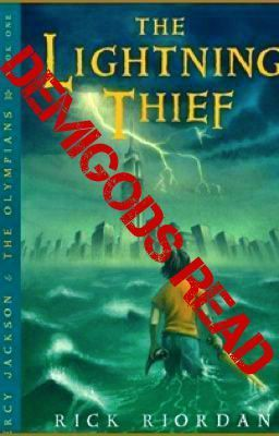 Future And Past Demigods Read The Lightning Thief Fanfiction God