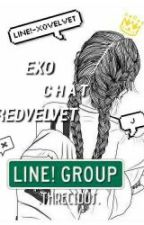LINE! ❌XOVELVET by threcious