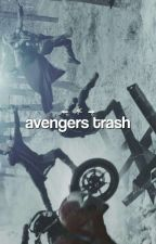 AVENGERS TRASH  by VoidLizz