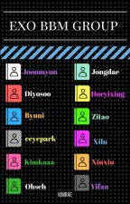 GRUP BBM EXO by kimrae_