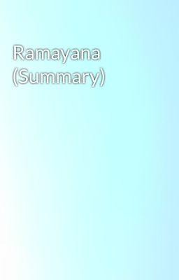 Ramayana (Summary)