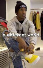 a different world - original by blackertheberry