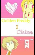 Golden Freddy X Chica //Con Tigo  by jakisiller