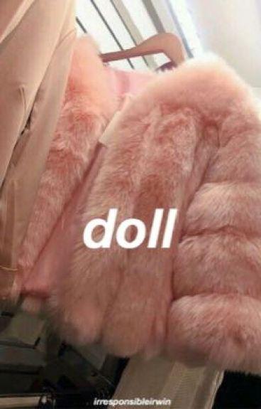 doll ; cake