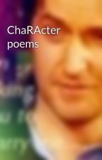 ChaRActer poems by Redrosewitch