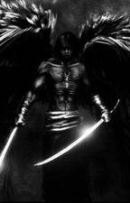 Male fallen angel x Fem slender man by zeno_sokyoto