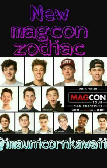 New Magcon Zodiac