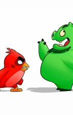 (Angry Birds Movie) Red/Leonard X Human! Reader by Official_Reich