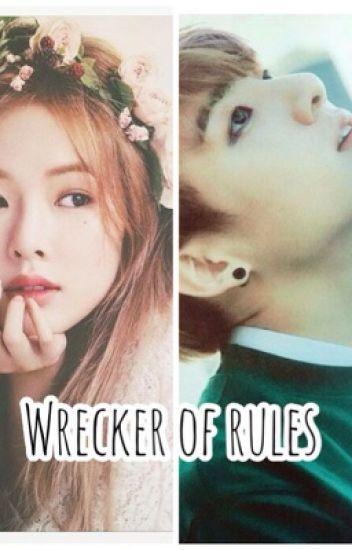 wrecker of rules [ Hyuna-JungKook]