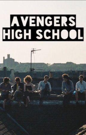Avengers High School AU by iminactivebabyyy