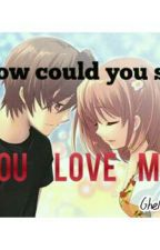 HOW COULD YOU SAY YOU LOVE ME by ghelay016