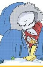 Little Sans And Baby Papyrus  by Artemis-The-Proxy