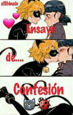 Ensayo de Confesión [Miraculous Book #1]  [COMPLETA] by Alex_Crazy_Fujoshi