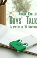 Boys' Talk by angelaranee