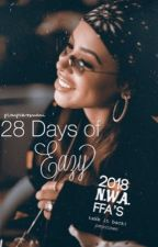 28 DAYS OF EAZY • Aaliyah  by MisunderstoodNani