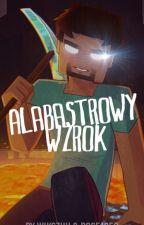 Alabastrowy wzrok II Herobrine by w_gubalaa